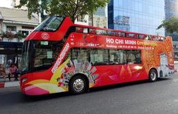Khai trương tuyến xe bus du lịch mui trần tham quan TP.HCM