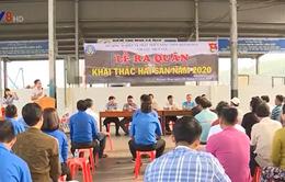 Khánh Hòa: Ra quân khai thác thủy sản đầu năm 2020