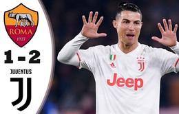 Roma 1-2 Juventus: Ronaldo lập công, Juventus trở lại ngôi đầu Serie A