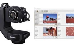 Canon giới thiệu robot chụp ảnh thể thao để chuẩn bị cho Olympic Tokyo 2020