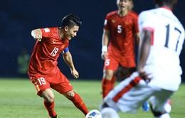 U23 Jordan 0–0 U23 Việt Nam: Chia điểm, U23 Việt Nam tạm xếp thứ 3 bảng D