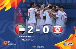 VIDEO Highlights: U23 UAE 2-0 U23 CHDCND Triều Tiên (Bảng D VCK U23 châu Á 2020)