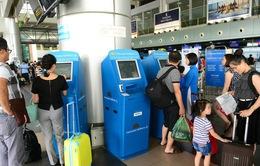 Tăng máy check-in tự động ở sân bay Tân Sơn Nhất