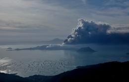Núi lửa phun trào tại Philippines