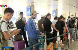 Sân bay Tân Sơn Nhất lên phương án phục vụ cao điểm Tết