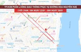 TP.HCM điều chỉnh giao thông phục vụ đường hoa Nguyễn Huệ