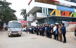 Những chuyến xe miễn phí đưa sinh viên về quê đón Tết