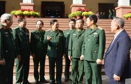 Đại tướng Ngô Xuân Lịch chúc Tết cán bộ, chiến sĩ Bộ đội Biên phòng