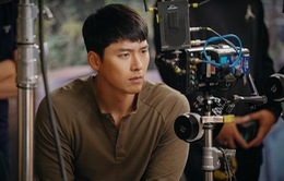 Hyun Bin đầy đăm chiêu trên phim trường Crash Landing On You