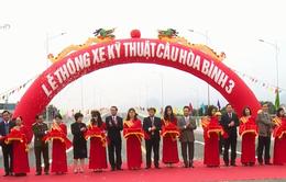 Thông xe kỹ thuật công trình cầu Hòa Bình 3 và đường dẫn