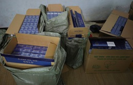 Thu giữ 15.000 bao 3 số có dấu hiệu nhập lậu tại Hà Nội