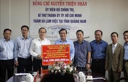 Đồng chí Nguyễn Thiện Nhân thăm và tặng quà Tết tại Quảng Nam