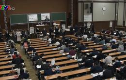 Học sinh THPT Nhật Bản bắt đầu kỳ thi Đại học 2020