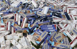 Phá đường dây thuốc lá lậu lớn, thu giữ hơn 76.000 gói