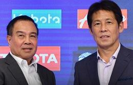 Trước VCK U23 châu Á 2020, Thái Lan gia hạn hợp đồng với HLV Nishino