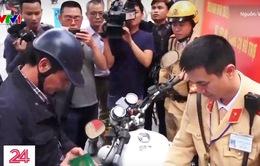 TP Hà Nội ra quân xử lý lái xe vi phạm nồng độ cồn