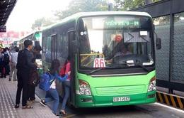 Lượng khách đi xe bus sụt giảm