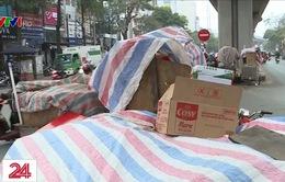Lượng rác thải cuối năm ở Hà Nội có ngày tăng 100%