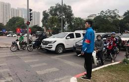 Thành đoàn Hà Nội tổ chức trông giữ xe miễn phí dịp cận Tết