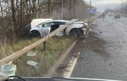 Sao Man Utd thoát nạn sau tai nạn ô tô gần sân tập
