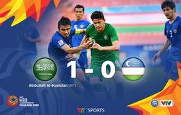 VIDEO Highlights: U23 Ả-rập Xê-út 1 - 0 U23 Uzbekistan (Bán kết U23 châu Á 2020)