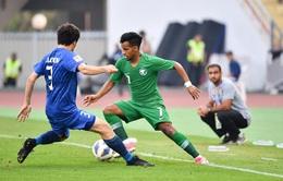 [KT] U23 Ả-rập Xê-út 1-0 U23 Uzbekistan: Al-Hamdan ghi bàn may mắn, U23 Ả-rập Xê-út giành quyền vào chung kết