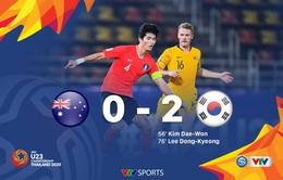 VIDEO Highlights: U23 Australia 0-2 U23 Hàn Quốc (Bán kết U23 châu Á 2020)