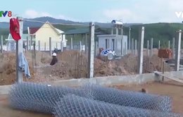 Tái định cư cho người dân ở Hồ chứa nước Đồng Mít