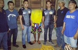 Nghi ngờ cất giấu ma túy trong nhà hoang tại Thái Lan