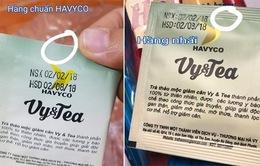 Trà thảo mộc Vy&Tea liên tục bị làm giả trên thị trường