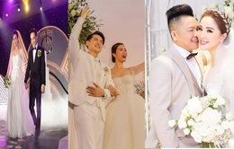Những đám cưới lịch sử 'khuấy đảo' showbiz Việt 2019