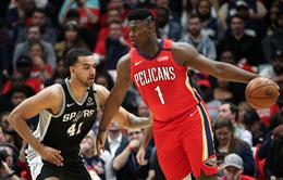 Zion Williamson có màn ra mắt ấn tượng cùng New Orleans Pelicans