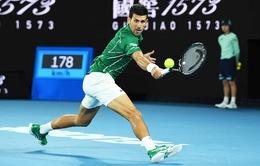 Australia mở rộng 2020: Djokovic tiến vào bán kết chạm trán Federer