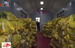 Nguồn cung thực phẩm tại Vũ Hán dần ổn định