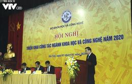 Hội nghị triển khai công tác ngành khoa học và công nghệ năm 2020