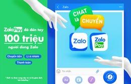 Ví điện tử ZaloPay chính thức đến tay người dùng Zalo