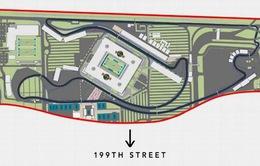 F1: Trường đua Miami thay đổi mẫu thiết kế