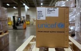 UNICEF viện trợ Vũ Hán 6 tấn vật tư y tế