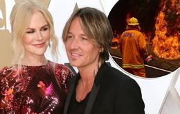 Vợ chồng Nicole Kidman quyên góp 500.000 USD khắc phục hậu quả cháy rừng