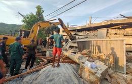 Vụ sập nhà ở Campuchia: Con số thương vong tăng lên 59 người