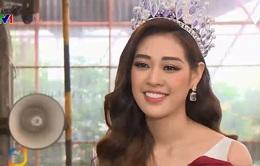Gặp gỡ Hoa hậu Hoàn vũ Việt Nam 2019 Nguyễn Trần Khánh Vân
