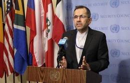Iran gửi thư phản đối Mỹ lên Hội đồng Bảo an Liên Hợp Quốc