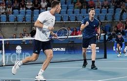 ATP Cup: ĐT Anh thắng ĐT Bỉ, ĐT Nga vượt qua ĐT Mỹ
