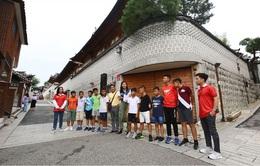 Dàn Cầu thủ nhí 2019 du đấu tại Hàn Quốc