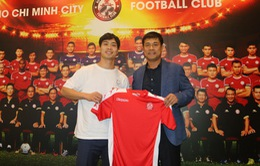 CHÍNH THỨC: Công Phượng ra mắt CLB TP. Hồ Chí Minh, bày tỏ niềm vui khi về Việt Nam thi đấu