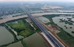 Khởi công xây dựng nút giao vào cao tốc Hà Nội - Hải Phòng
