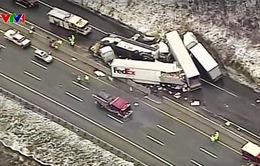 Tai nạn liên hoàn tại Mỹ, hơn 60 người thương vong
