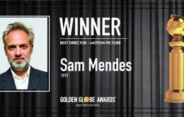 Quả cầu vàng 2020: Sam Mendes giành giải Đạo diễn phim xuất sắc nhất