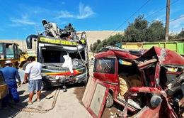 Đâm xe tại Peru, ít nhất 56 người thương vong