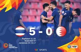VIDEO Highlights: U23 Thái Lan 5-0 U23 Bahrain (Bảng A VCK U23 châu Á 2020)